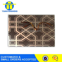 acid etching stainless steel sheets 304 for decoration