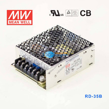 RD-35B 35W +5V2.2A + 24V 1A dual Mean well switching power supply