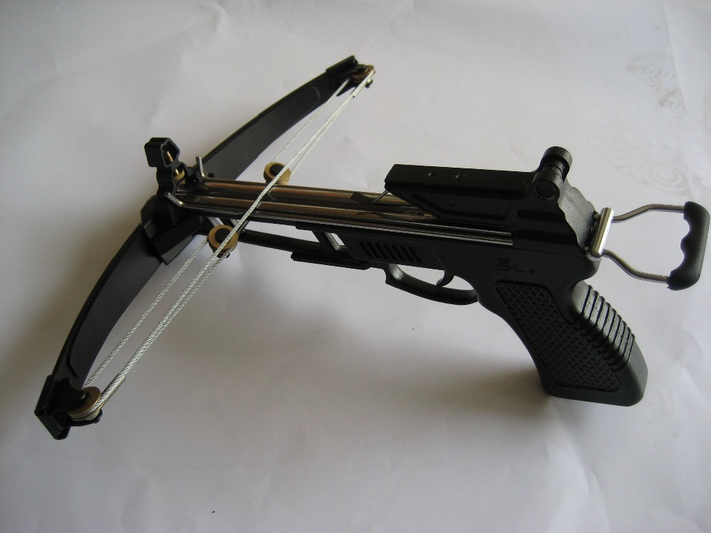 China manufacturer 50lbs pistol crossbow hunting