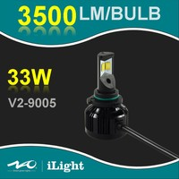 Free sample car accessories parts 12V auto led headlight bulb with projector