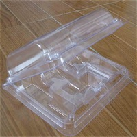 clamshell plastic storage packaging box