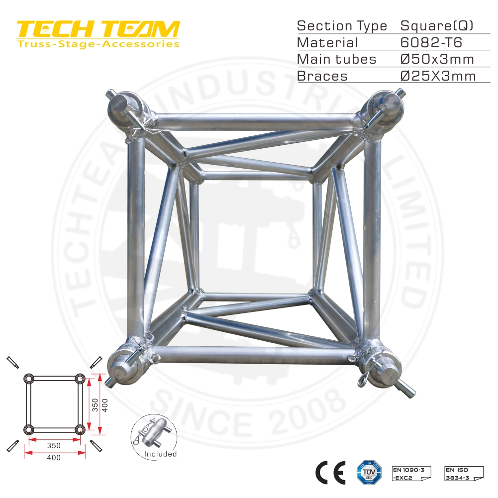 12-10-10m Aluminum Roof Truss For Big concert