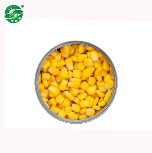 High-quality delicious china canned sweet vegetable corn canned food