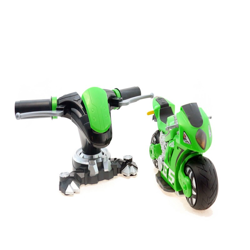 China topwin1:18 2.4G-4D 007 RC Motocycle RC car with driver