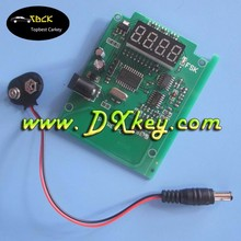 Digital frequency counter remote frequency reader