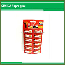 famouse super glue in India, aluminum packing super glue 502