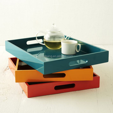 Chinese factory fancy tea tray fruit tray plastic food tray for wholesale