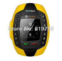 2013 new watch mobile phone ip67 waterproof support bluetooth