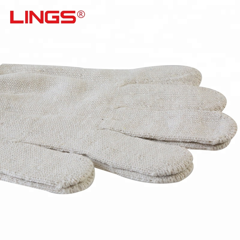 High quality double cotton canvas <strong>glove</strong>/thicken red side safety <strong>gloves</strong>