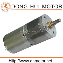 DGA25-370 12v dc motor parallel shaft gear motors low rpm from DH Motor