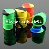 2016 food grade silicone jar , wax container ,oil barrel container jar
