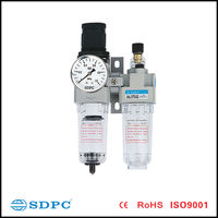 Filter Regulator Lubricator/Air Filter Regulator Lubricator AC201 FRL Combination