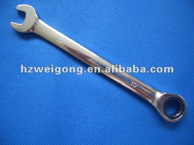 Automotive Tool 10mm Combination Ratchet Wrench