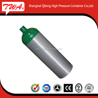 CE, DOT, ISO9809 approval high pressure medical oxygen cylinder