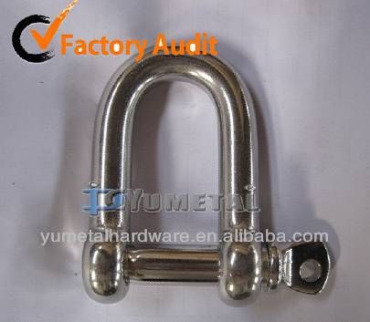 Galvanized European Type Large Dee Shackle