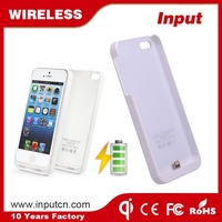 Good Quality Low Price qi wireless charger receiver case for iphone 5 5s 5c