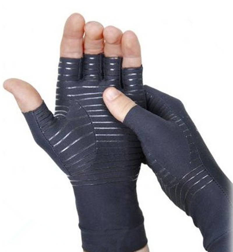 Factory direct selling Creative Design Copper Infused dotted Compression Healthy Hands Arthritis <strong>Gloves</strong>