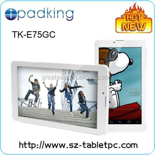 7 inch Built-in 3G module MTK8312 Dual core tablet pc