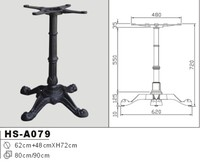 Hot Sale Classical Coffee Dining Wrought Cast Iron Table Base Table Leg Frniture Leg HS-A079