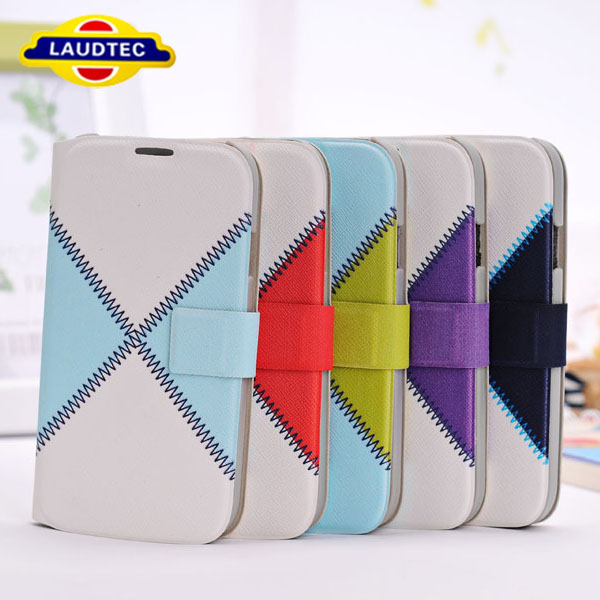 FLIP WALLET LEATHER CASE FITS FOR SAMSUNG GALAXY S4 I9500