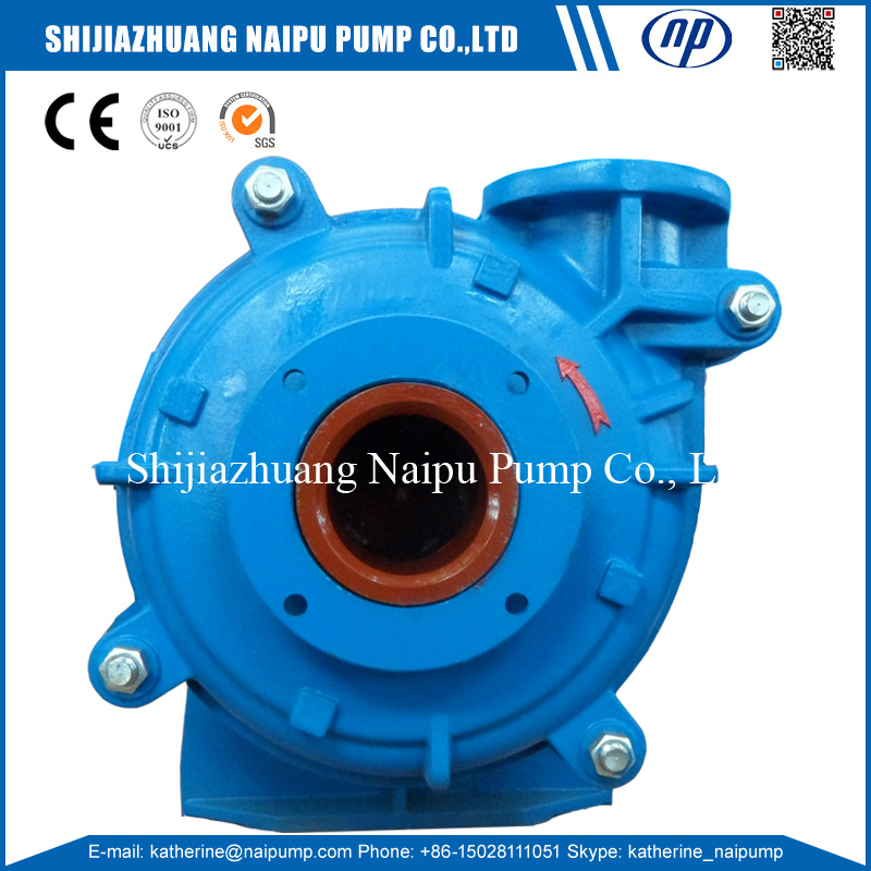Horizontal Centrifugal Metal Lined 6/4AH-EE Price of the Centrifugal Pump