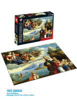 customized printing 1000 piece jigsaw puzzles for adults