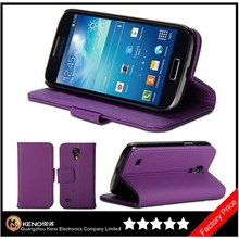 Keno PU Leather Magnetic Wallet Stand Flip Case for Samsung Galaxy S4 Mini i9190 i9192 i9195