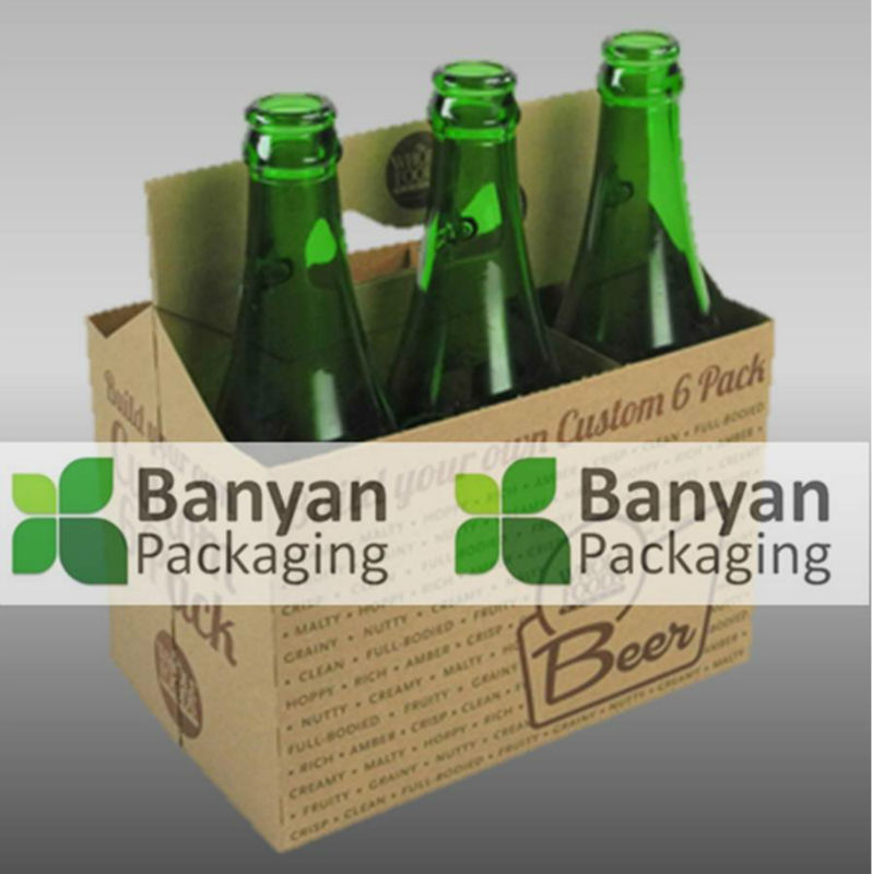 High quality printed bottle carrier