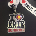 Custom Half Marathon 5k finisher metal enamel medal with lanyard