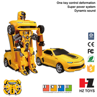 One key control deformation tobot transforming robot toy