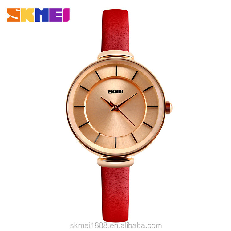 Skmei watch instructions #1184 vintage stainless steel back quartz movement watches 3atm water resistant quartz watch for women