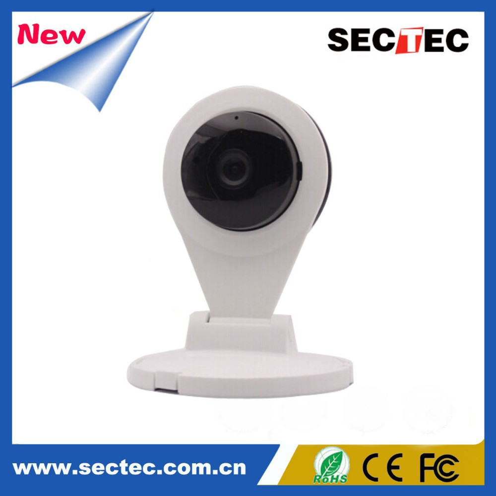 Robot pan tilt wifi ip camera With IR Night Vision smart ip camera