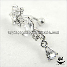 Fashion navel piercing jewelry making supplies
