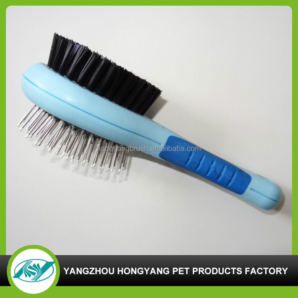 pet grooming brushes, comb shape pet product, dog hair rake comb