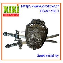 3Pcs lastest design kids sword shield toy plastic weapons