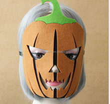Cheap pumpkin Halloween masks,Halloween party pumpkin mask,scary party mask for men
