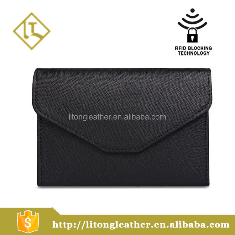 Rfid Blocking Passport Holder Wallet & Travel Wallet business card Envelope