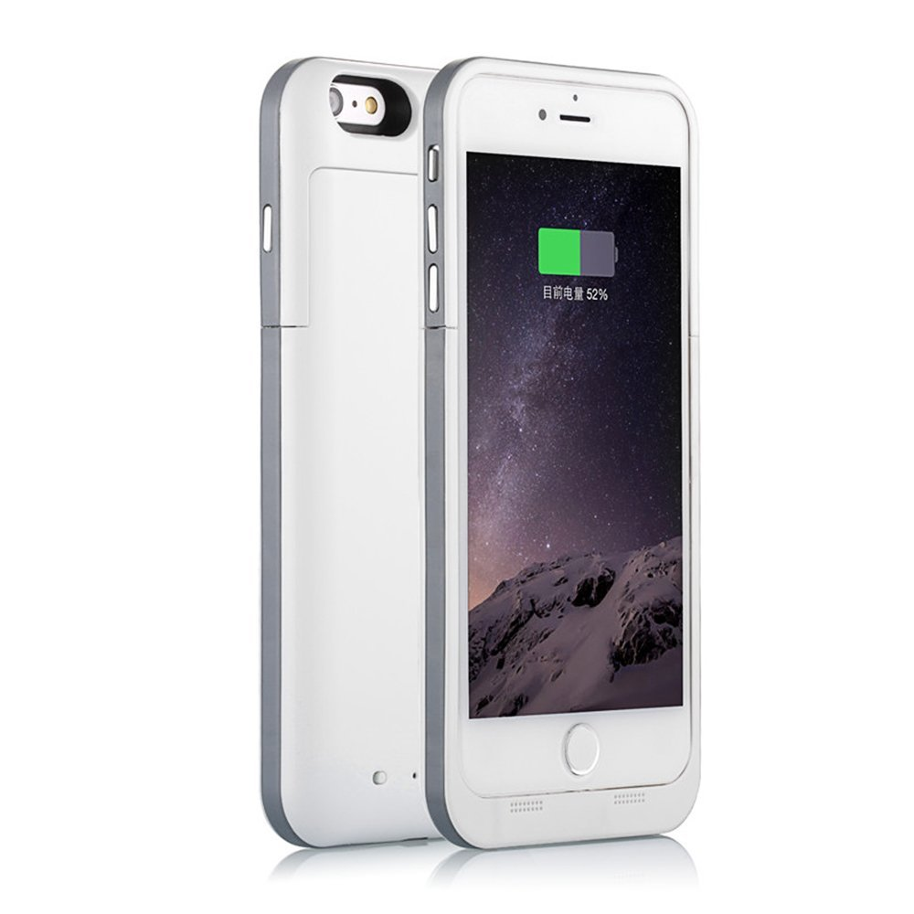 2017 trending products 3200mAh External Battery Backup Charger Battery Case Pack Power Bank case cover for iPhone 5 5s se