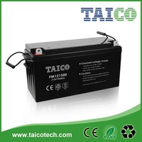 rechargeable 12v 150ah battery for ups, solar,telecom system