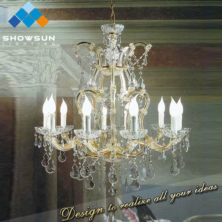 2016 vintage metallic cristal chandelier centerpiece lighting factory