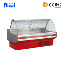 2M New Style commercial used meat display supermarket refrigerator