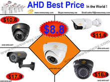 AHD IR eye ball dome camera AHD plastic dome 720P camera