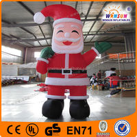 Feashion design quick delivery christmas inflatable stocking
