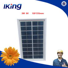 Hot Sale Solar Panel Module/3W9V Solar Photovoltaic Module/3W High Efficiency PV Solar Panel With CE Certification