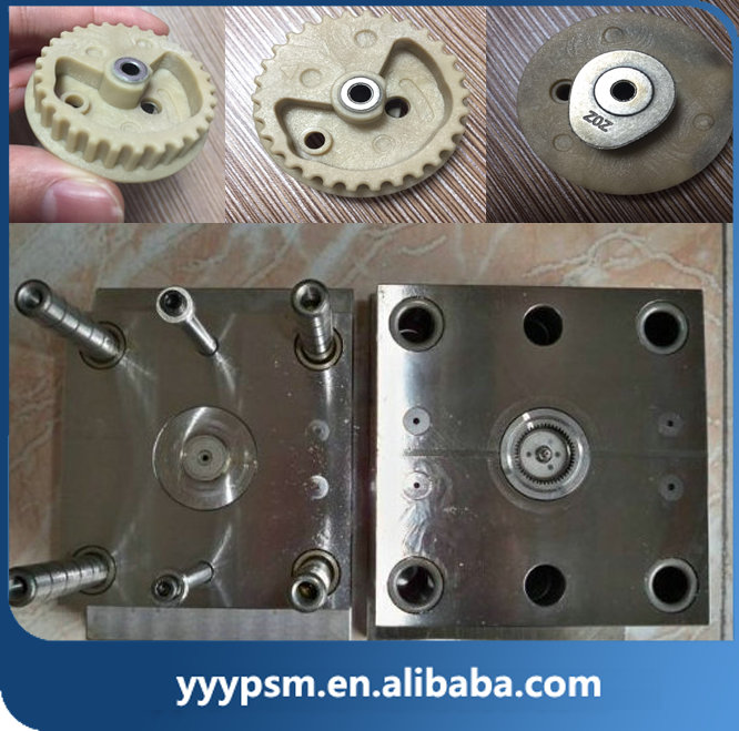 POM Nylon Custom plastic worm gear injection mold manufacturer