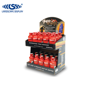 Advertisement jar display/energy drink counter