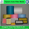 pp super-thin fiber dust air filter media