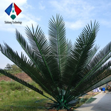 Antenna Tower Used Wholesale Artificial Leaves Plastic Palm Branches
