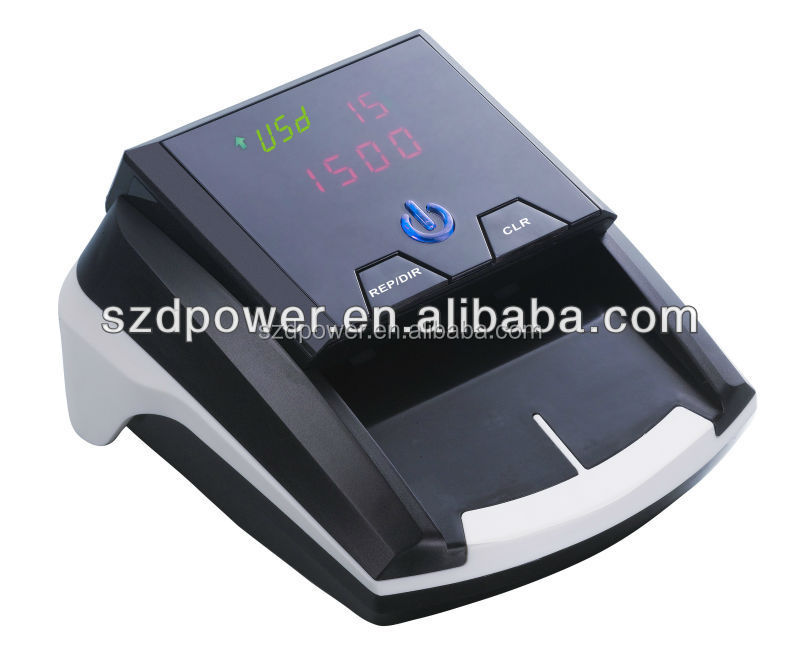 High speed fake paper money detector machine portable currency detector DP-2268/2