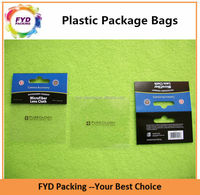 Customize Plastic Resealable Header OPP Self-adhesive Bag